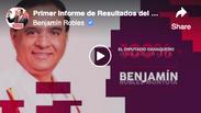 Primer Informe de Resultados del Diputado Federal Benjamín Robles Montoya