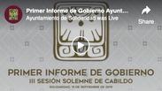 Primer Informe de Gobierno Ayuntamiento de Solidaridad