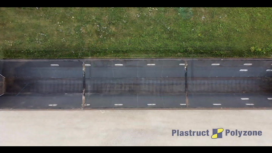 Before & After - Durapro Liner by Plastruct Polyzone