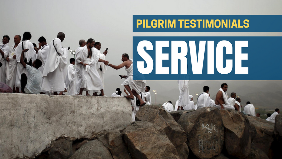 What Pilgrims Are Saying