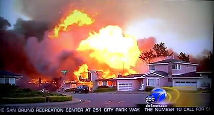 Channel 7 Breaking news story about Glenview Fire September 9, 2010