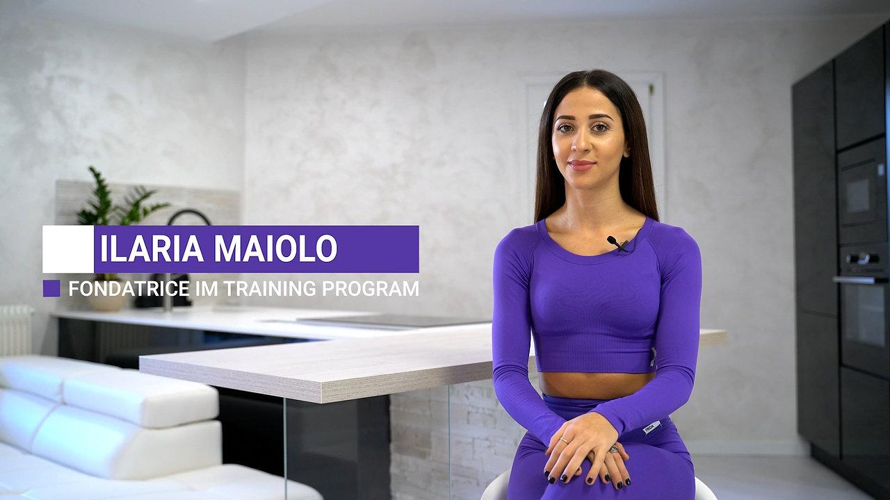 Ilaria Maiolo - video intervista IM training