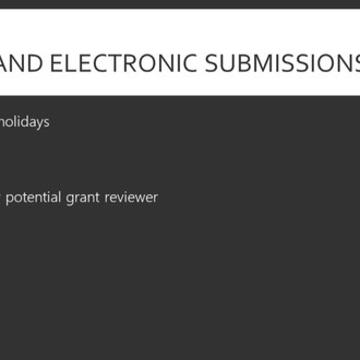 Submitting Your Completed Grant Proposal