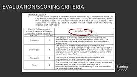Grant Evaluation Criteria