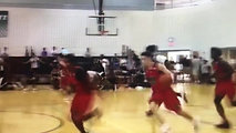 Mark Johnson w/ Euro Step From 3pt Line