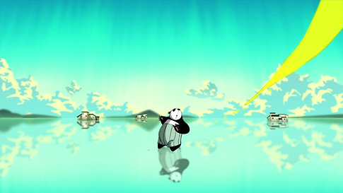 Panda in the Rain (2020)
