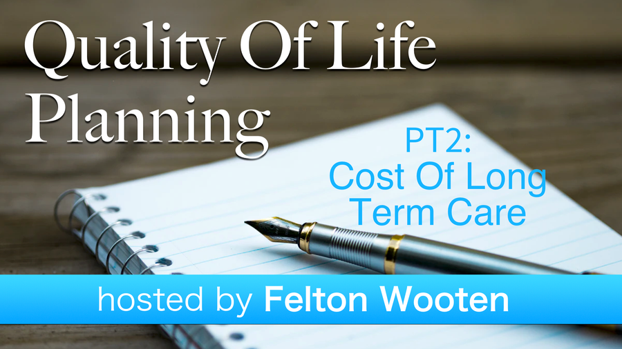 Pt2:  Cost of Long Term Care