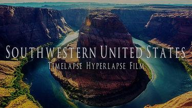 Southwestern United States | Timelapse Hyperlapse Film CinemaDCP4K