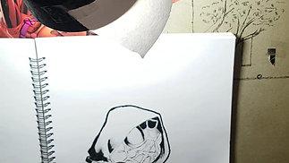 sketching miles