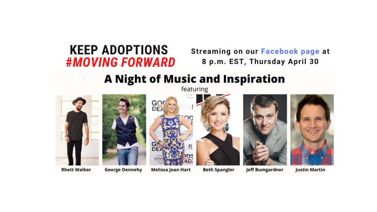 Keep Adoptions Moving Forward Benefit Concert