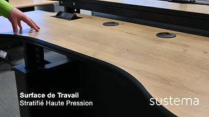 Console Focus C-200 - Mobilier pour Salle de Contrôle - Sustema