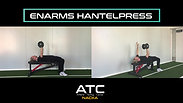31. Enarms hantelpress
