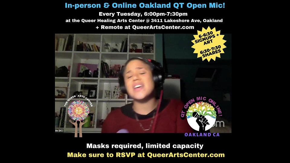 In Person Open Mic Promo