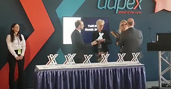 TOMPAR receives Booth Recognition Award
