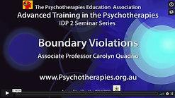 3_Boundary Violations_Carolyn Quadrio MR