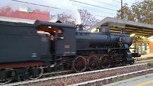 Treno a Vapore in Transito a PARABIAGO  11 Ottobre 2020