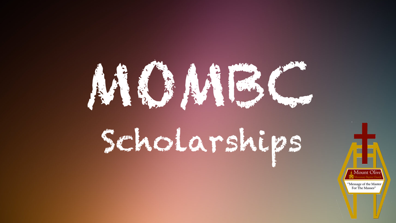 MOMBC Scholarships