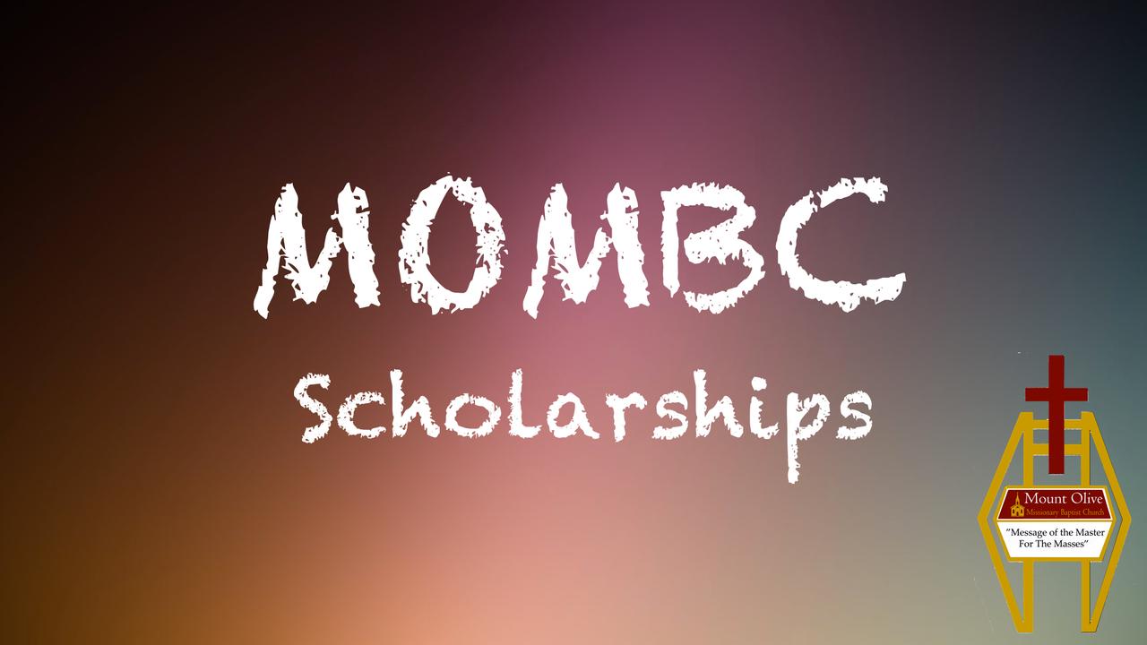 MOMBC Scholarships