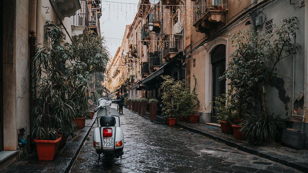 Catania with Easyjet