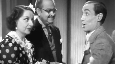 Boda accidentada (1943) baile