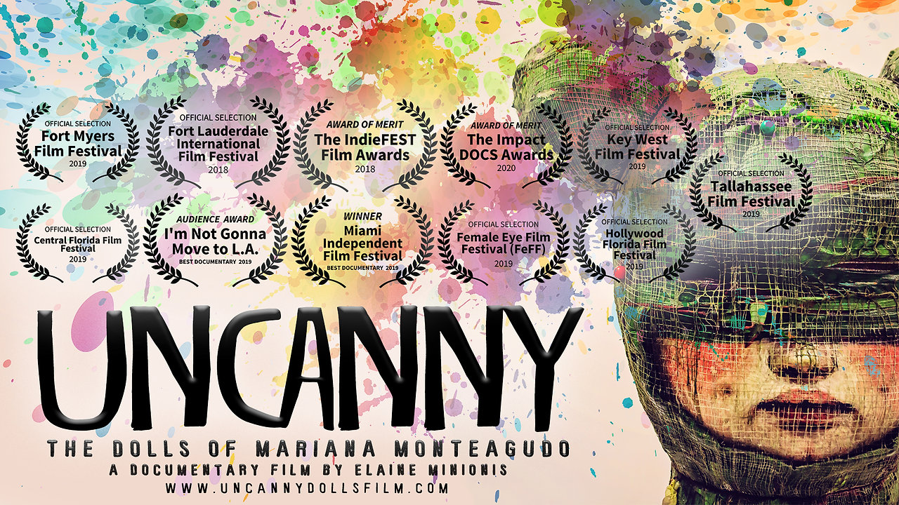 "(Official Trailer) ""UNCANNY: The Dolls of Mariana Monteagudo"". A documentary film by Elaine Minionis"