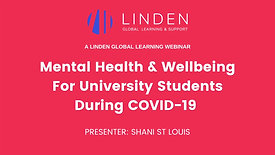 Mental Health Support For University Students