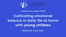 Webinar For Parents of Young Children (Early Childhood): Parenting in Lockdown