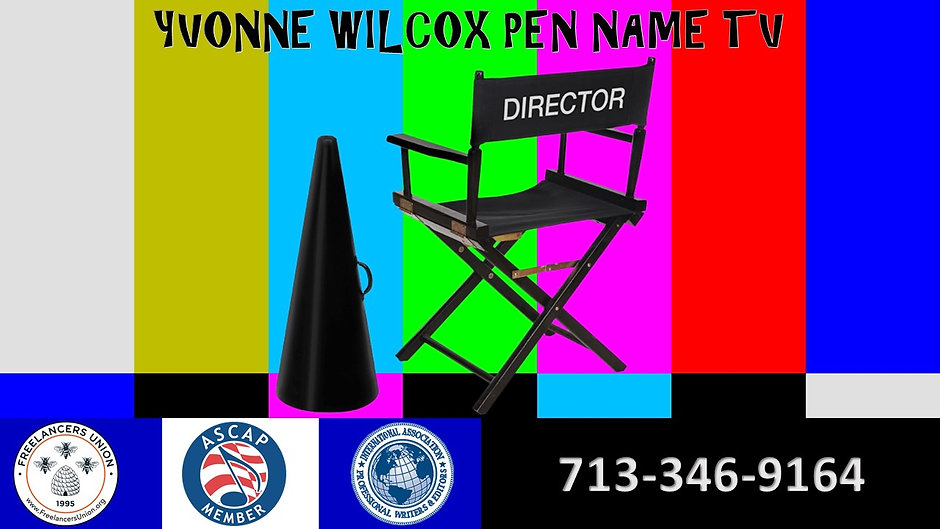 Yvonne Wilcox Pen Name TV