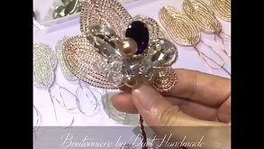 FRENCH BEADED BOUTONNIERE