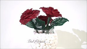 FRENCH BEADED ROSE PLANT