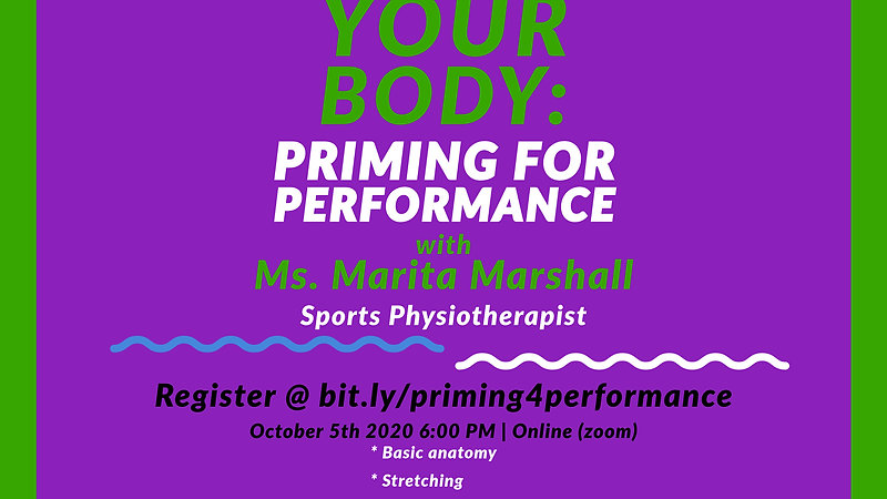 Understanding Your Body: Priming for Performance