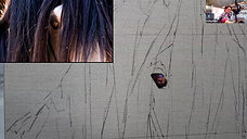 Painting the horse - eye - 1605