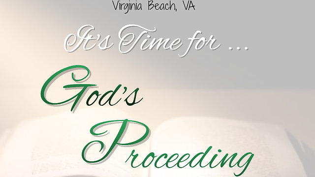 God's Proceeding Word