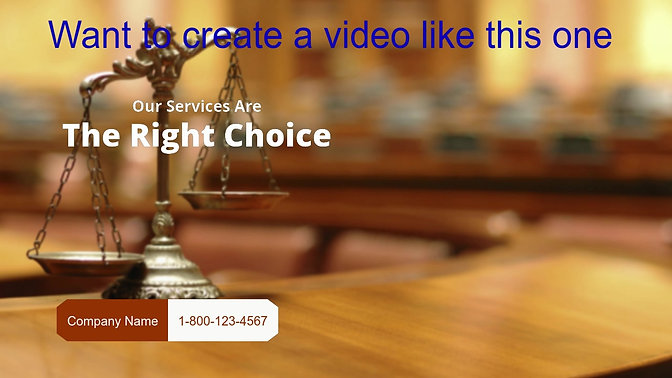 Bankruptcy Attorney Sample video