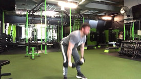 Deadlift to Curl to Press