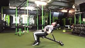 Incline Curl to Press