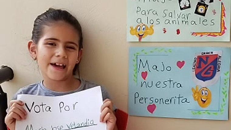 Candidatos a personera y personerito/a