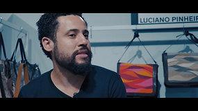 LUCIANO PINHEIRO - Handbags Designer from Brazil - Making Of + Interview