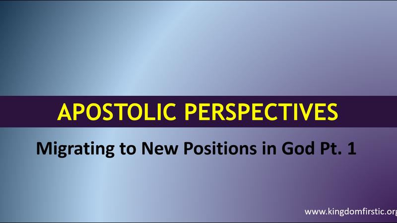 Apostolic Perspectives