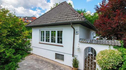 Videopräsentation Einfamilienhauses in Hamburg - Niendorf