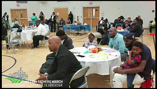 Dunbar Elementary - Million Fathers March