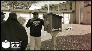 Real Dads Read - Little Free Libraries Visits