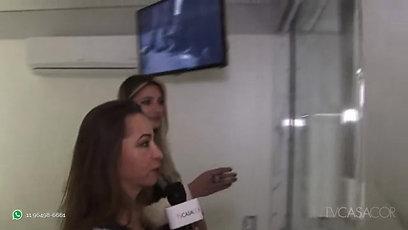 TV CASACOR entrevista Juliana Damasio