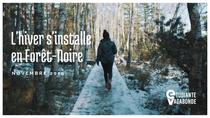 L'hiver s'installe en Forêt-Noire, Allemagne