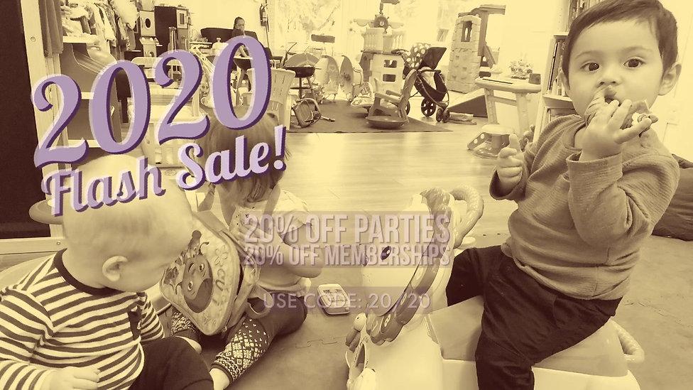 20/20 Flash Sale