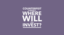'LIVING WATER - or COUNTERFEIT CURRENCY - WHERE WILL YOU INVEST?'