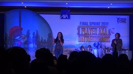 AXA Financial Indonesia Final Sprint 2018