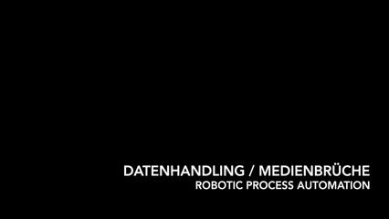 Datenhandling / Medienbrüche