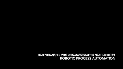 Datentransfer vom #finanzgestalter nach agree21