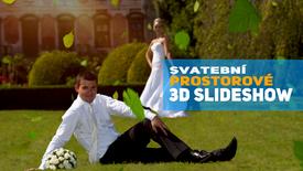 Prostorové 3D svatební slideshow